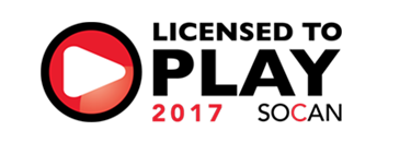 licensed-play 2017 socan